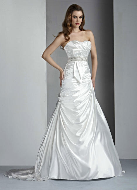 50032 gown from the 2014 DaVinci collection, as seen on Bride.Canada