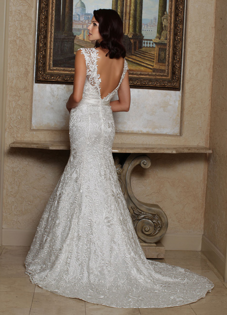 50168 (2) gown from the 2014 DaVinci collection, as seen on Bride.Canada