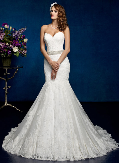 Vienna gown from the 2014 KittyChen collection, as seen on Bride.Canada