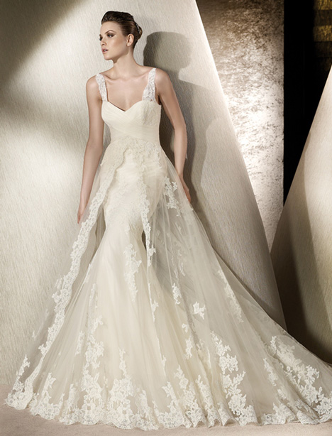 Rivera gown from the 2012 St. Patrick collection, as seen on Bride.Canada