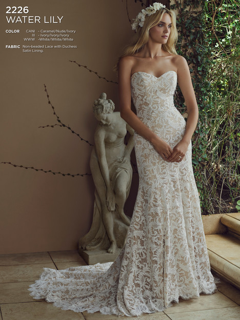 Water Lily (Caramel) gown from the 2016 Casablanca Bridal collection, as seen on Bride.Canada