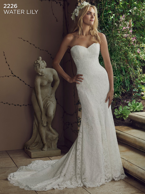 Water Lily (Ivory) gown from the 2016 Casablanca Bridal collection, as seen on Bride.Canada