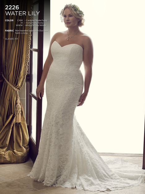 Water Lily (Classic) gown from the 2016 Casablanca Bridal collection, as seen on Bride.Canada
