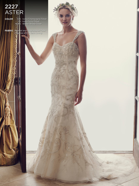 Aster gown from the 2016 Casablanca Bridal collection, as seen on Bride.Canada