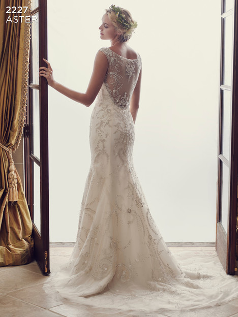 Aster (2) gown from the 2016 Casablanca Bridal collection, as seen on Bride.Canada