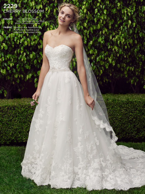 Cherry Blossom gown from the 2016 Casablanca Bridal collection, as seen on Bride.Canada