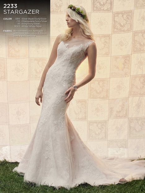 Stargazer gown from the 2016 Casablanca Bridal collection, as seen on Bride.Canada