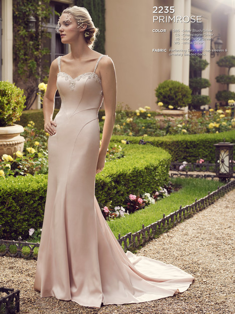 Primrose gown from the 2016 Casablanca Bridal collection, as seen on Bride.Canada