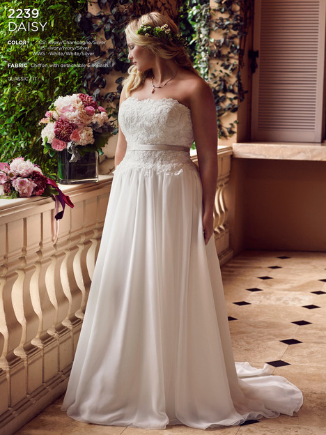 Daisy (Classic) gown from the 2016 Casablanca Bridal collection, as seen on Bride.Canada
