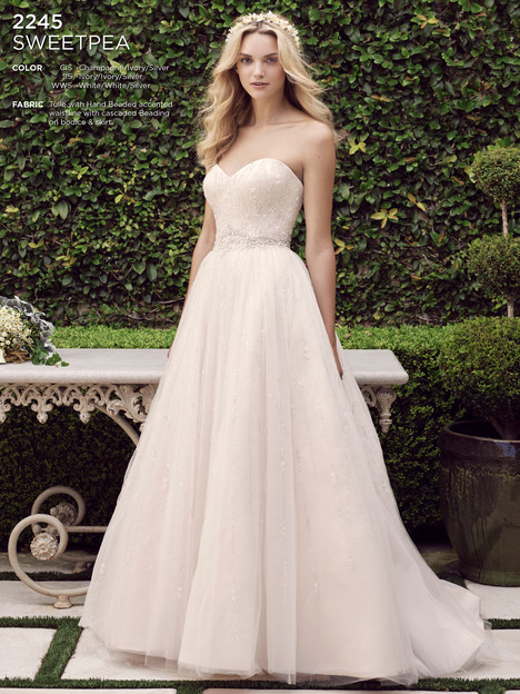 Sweetpea gown from the 2016 Casablanca Bridal collection, as seen on Bride.Canada