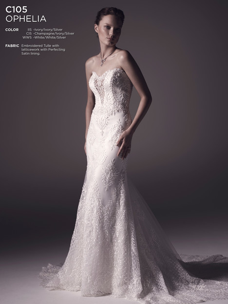 Ophelia gown from the 2016 Amare collection, as seen on Bride.Canada