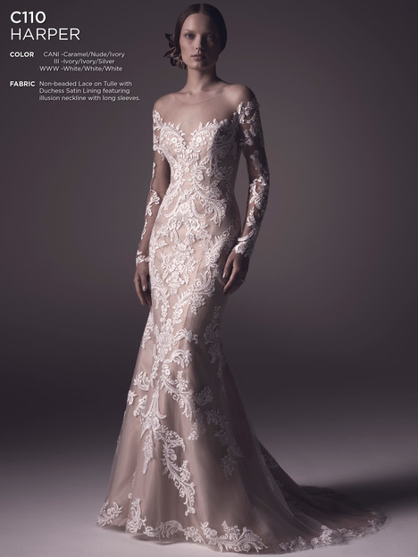 Harper gown from the 2016 Amare collection, as seen on Bride.Canada