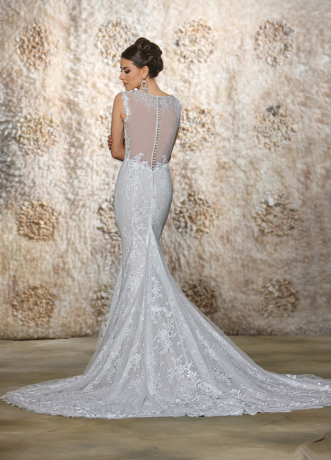 Scarlett gown from the 2015 Cristiano Lucci collection, as seen on Bride.Canada