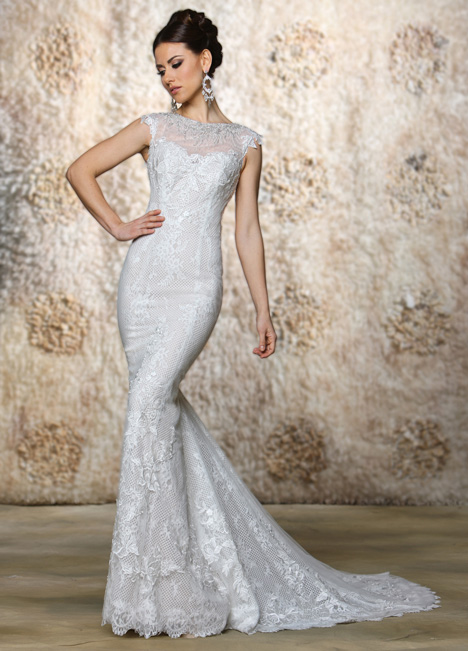 Scarlett (2) gown from the 2015 Cristiano Lucci collection, as seen on Bride.Canada
