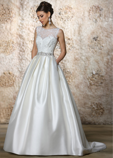 Annette (2) gown from the 2015 Cristiano Lucci collection, as seen on Bride.Canada