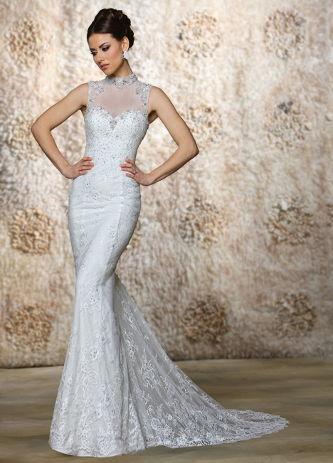 Tia gown from the 2015 Cristiano Lucci collection, as seen on Bride.Canada
