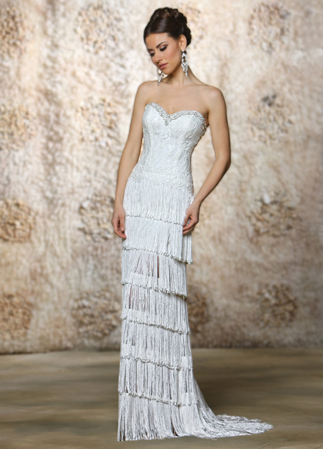 Julia gown from the 2015 Cristiano Lucci collection, as seen on Bride.Canada