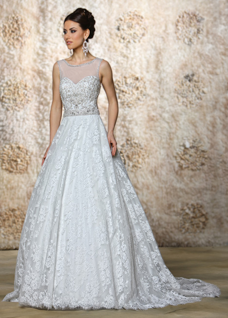 Drew gown from the 2015 Cristiano Lucci collection, as seen on Bride.Canada