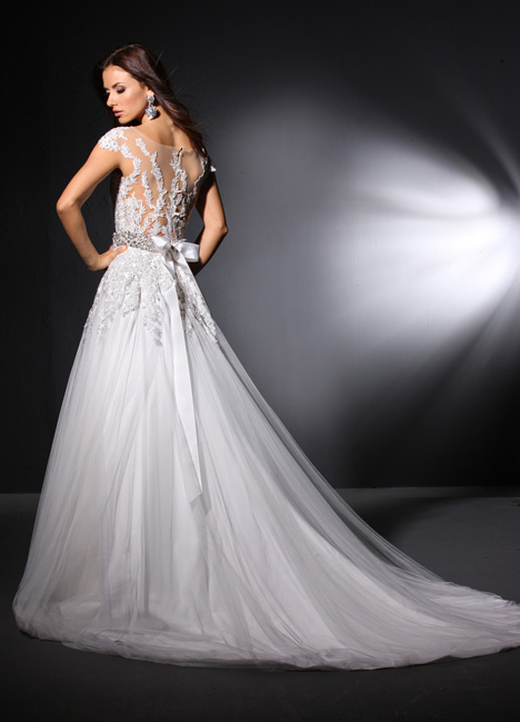 Tullah (2) gown from the 2015 Cristiano Lucci collection, as seen on Bride.Canada