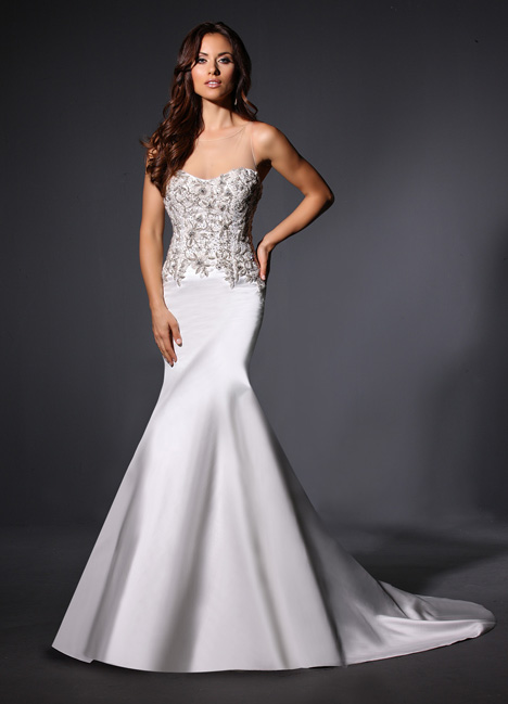 Harlow gown from the 2015 Cristiano Lucci collection, as seen on Bride.Canada