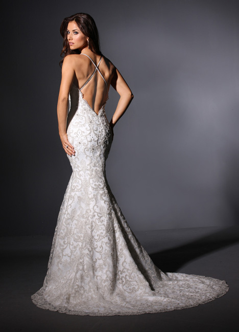 Garbo (2) gown from the 2015 Cristiano Lucci collection, as seen on Bride.Canada