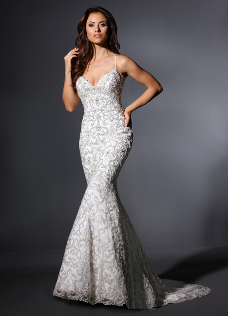Garbo gown from the 2015 Cristiano Lucci collection, as seen on Bride.Canada