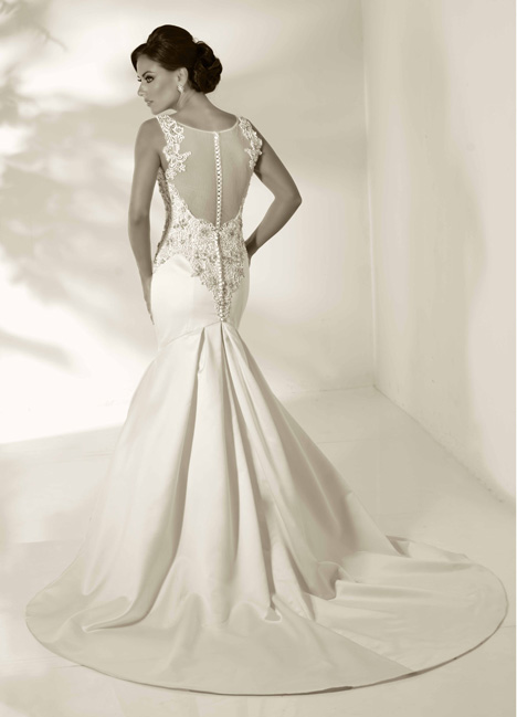 Emma gown from the 2014 Cristiano Lucci collection, as seen on Bride.Canada