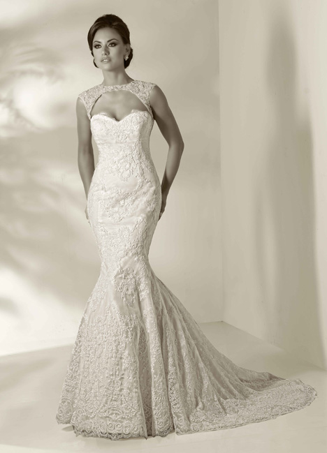 Megan gown from the 2014 Cristiano Lucci collection, as seen on Bride.Canada