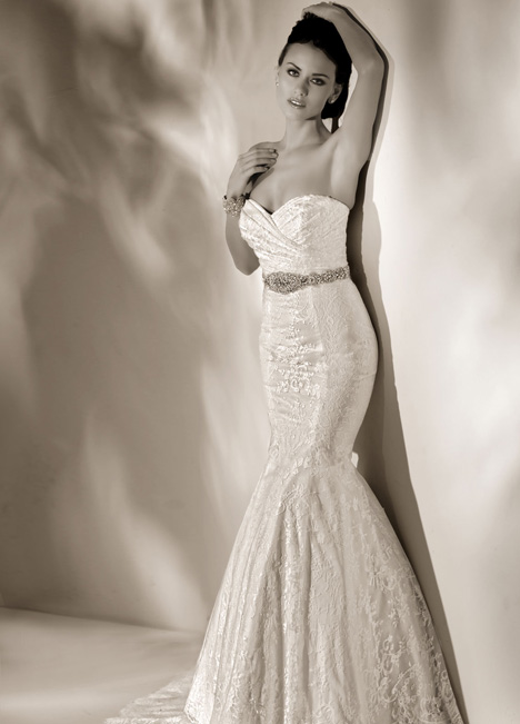 Amy gown from the 2014 Cristiano Lucci collection, as seen on Bride.Canada