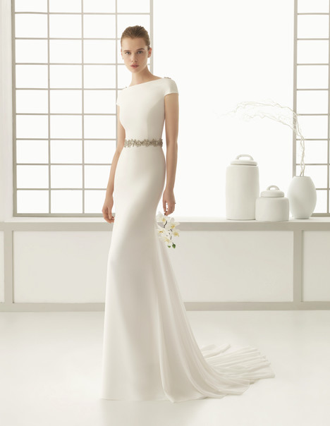 Denise gown from the 2016 Rosa Clara Couture collection, as seen on Bride.Canada