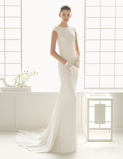Dylan gown from the 2016 Rosa Clara Couture collection, as seen on Bride.Canada