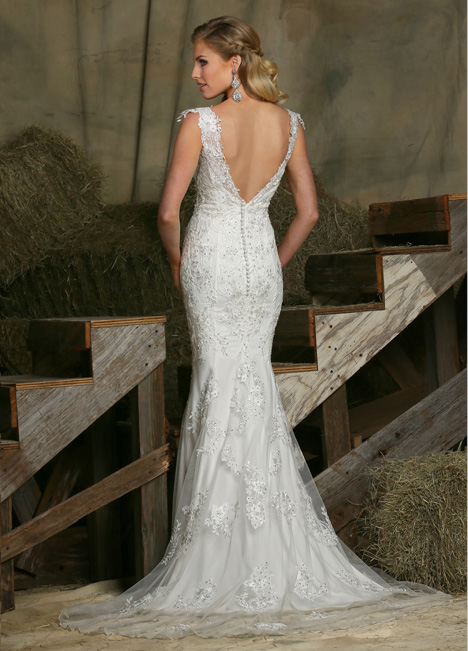 50335 (2) gown from the 2015 DaVinci collection, as seen on Bride.Canada