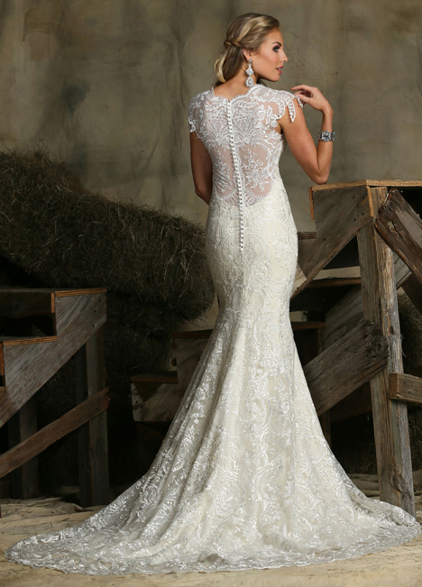 50329 (2) gown from the 2015 DaVinci collection, as seen on Bride.Canada
