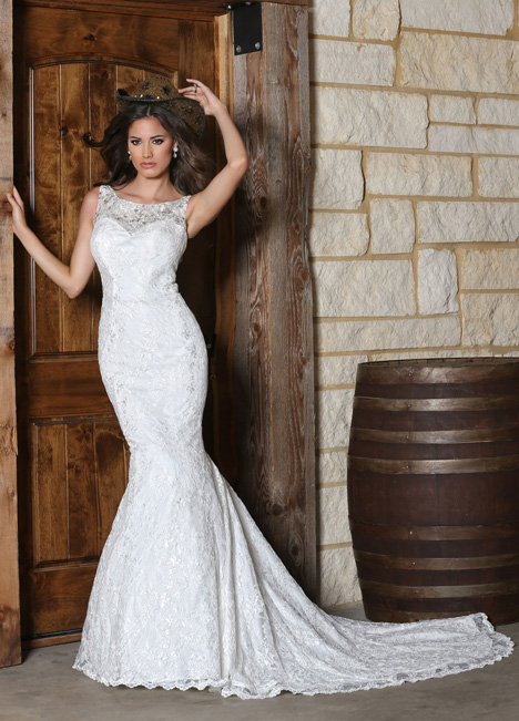 50301 gown from the 2015 DaVinci collection, as seen on Bride.Canada