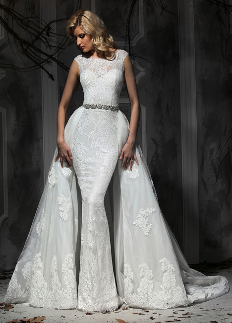 10365 + Overskirt gown from the 2015 Impression collection, as seen on Bride.Canada