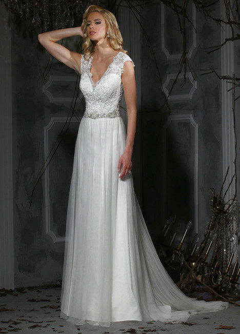 10358 gown from the 2015 Impression collection, as seen on Bride.Canada