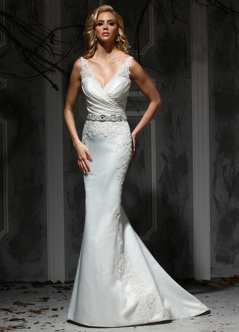 10357 gown from the 2015 Impression collection, as seen on Bride.Canada