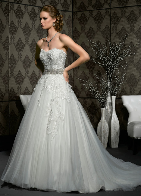 10327 gown from the 2015 Impression collection, as seen on Bride.Canada