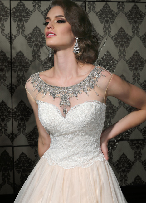 10293 gown from the 2015 Impression collection, as seen on Bride.Canada