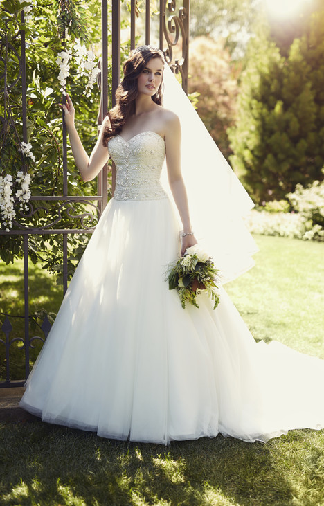 gown from the 2015 Essense of Australia collection, as seen on Bride.Canada