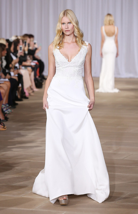Fair gown from the 2016 Ines Di Santo collection, as seen on Bride.Canada