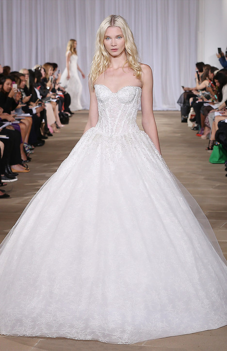 Effervescent gown from the 2016 Ines Di Santo collection, as seen on Bride.Canada