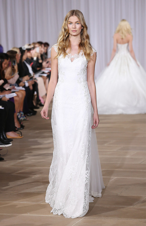 Joy gown from the 2016 Ines Di Santo collection, as seen on Bride.Canada