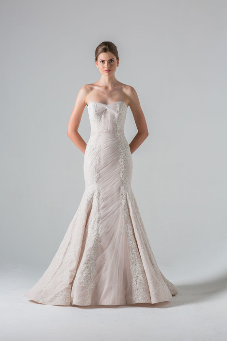 Luxembourg gown from the 2016 Anne Barge collection, as seen on Bride.Canada