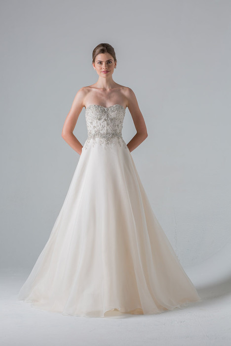 Reverie gown from the 2016 Anne Barge collection, as seen on Bride.Canada