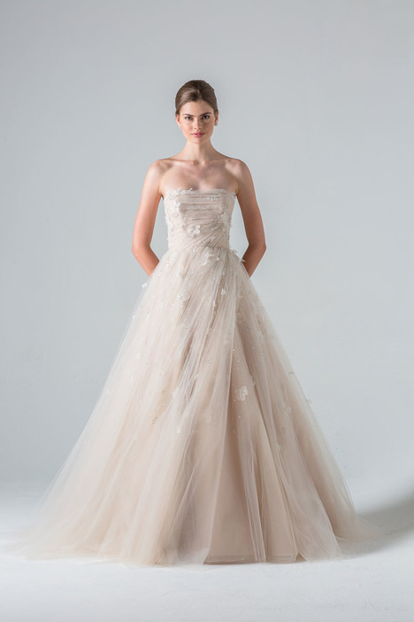 Tuileries gown from the 2016 Anne Barge collection, as seen on Bride.Canada