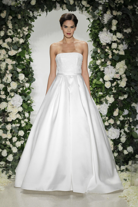 Cloister gown from the 2016 Blue Willow by Anne Barge collection, as seen on Bride.Canada