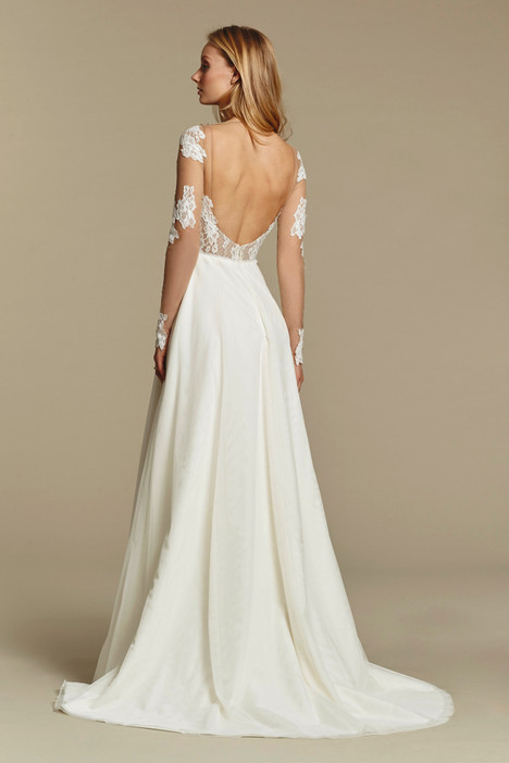 Ginger (back) gown from the 2016 Blush by Hayley Paige collection, as seen on Bride.Canada