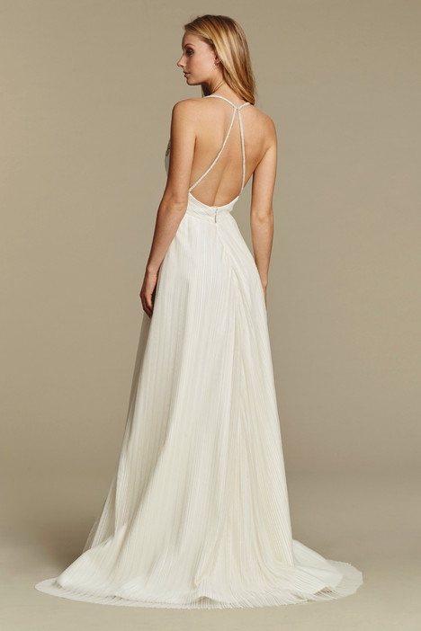 Cosmos (back) gown from the 2016 Blush by Hayley Paige collection, as seen on Bride.Canada
