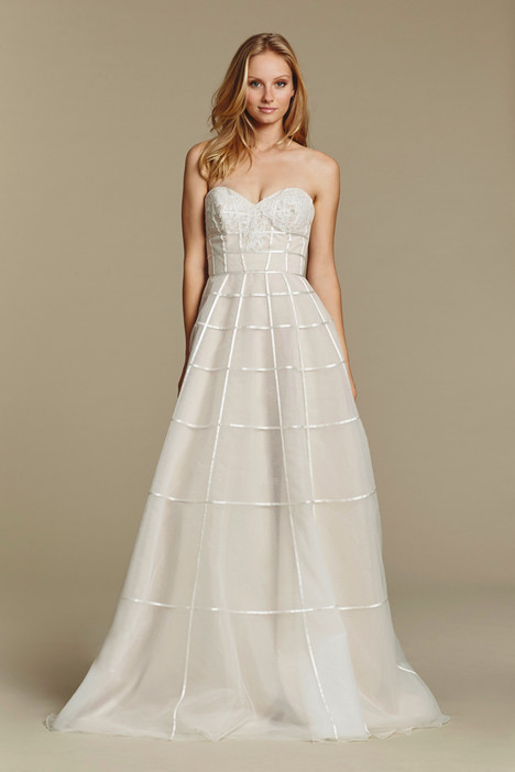 Easton gown from the 2016 Blush by Hayley Paige collection, as seen on Bride.Canada